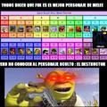 Shrek, el destructor (tristemente no está en el juego)