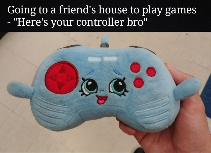 This meme was made by the 3rd party controller squad