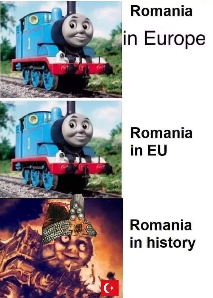 Romania be like - meme