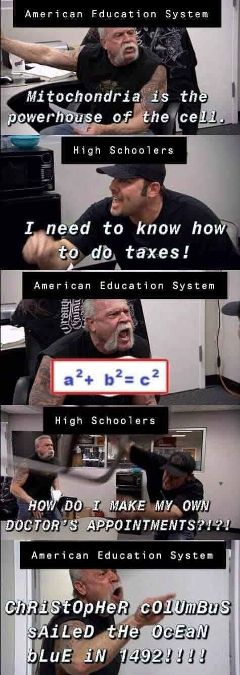 every class EVER - meme