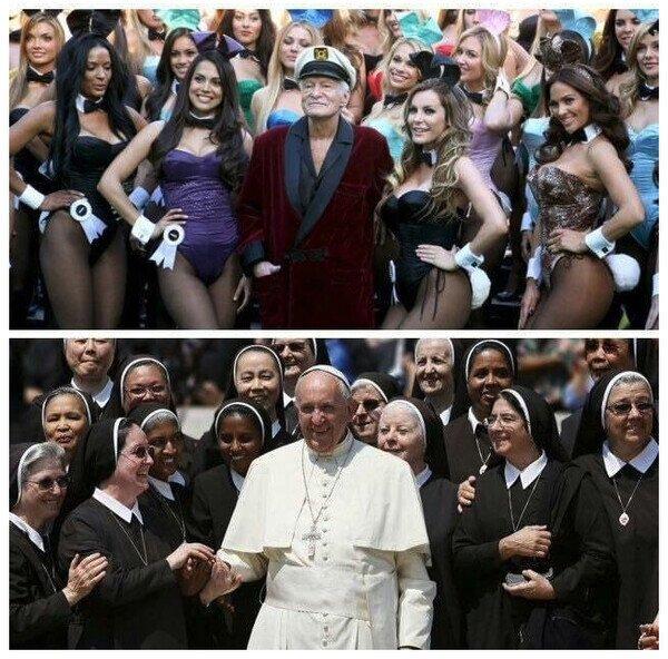 Ya que estan subiendo memes del papa