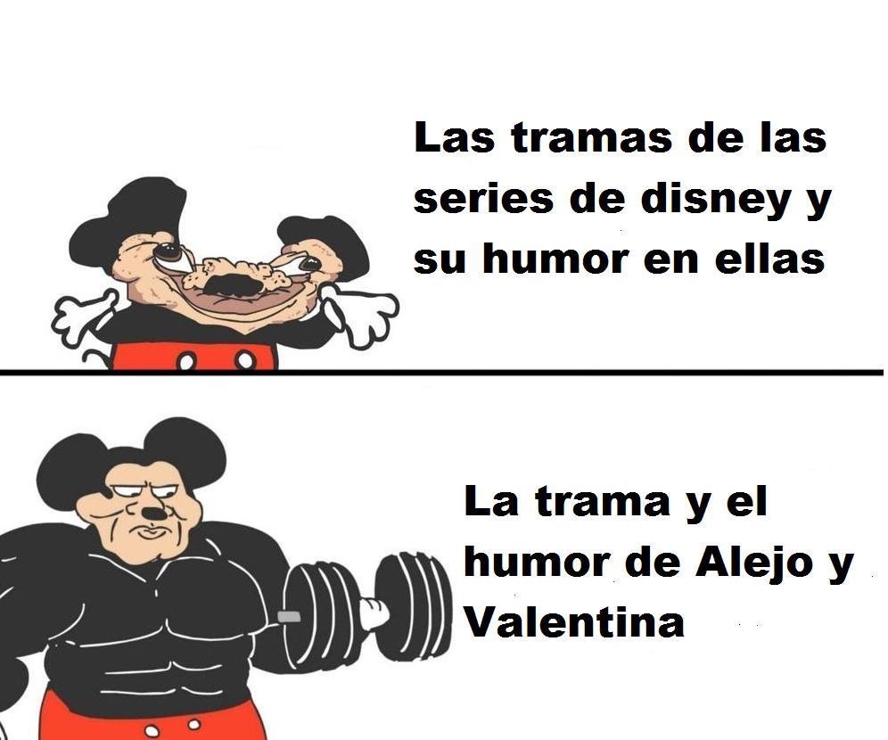 Estuve en Argentina por un mes y me cague de la risa con esa serie - meme