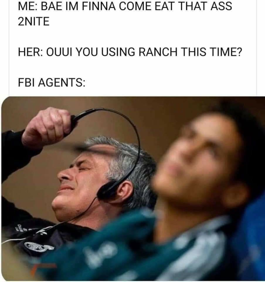 Sorry Mr FBI agent - meme