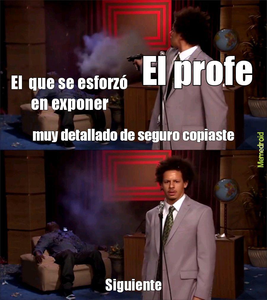 Exponer - meme