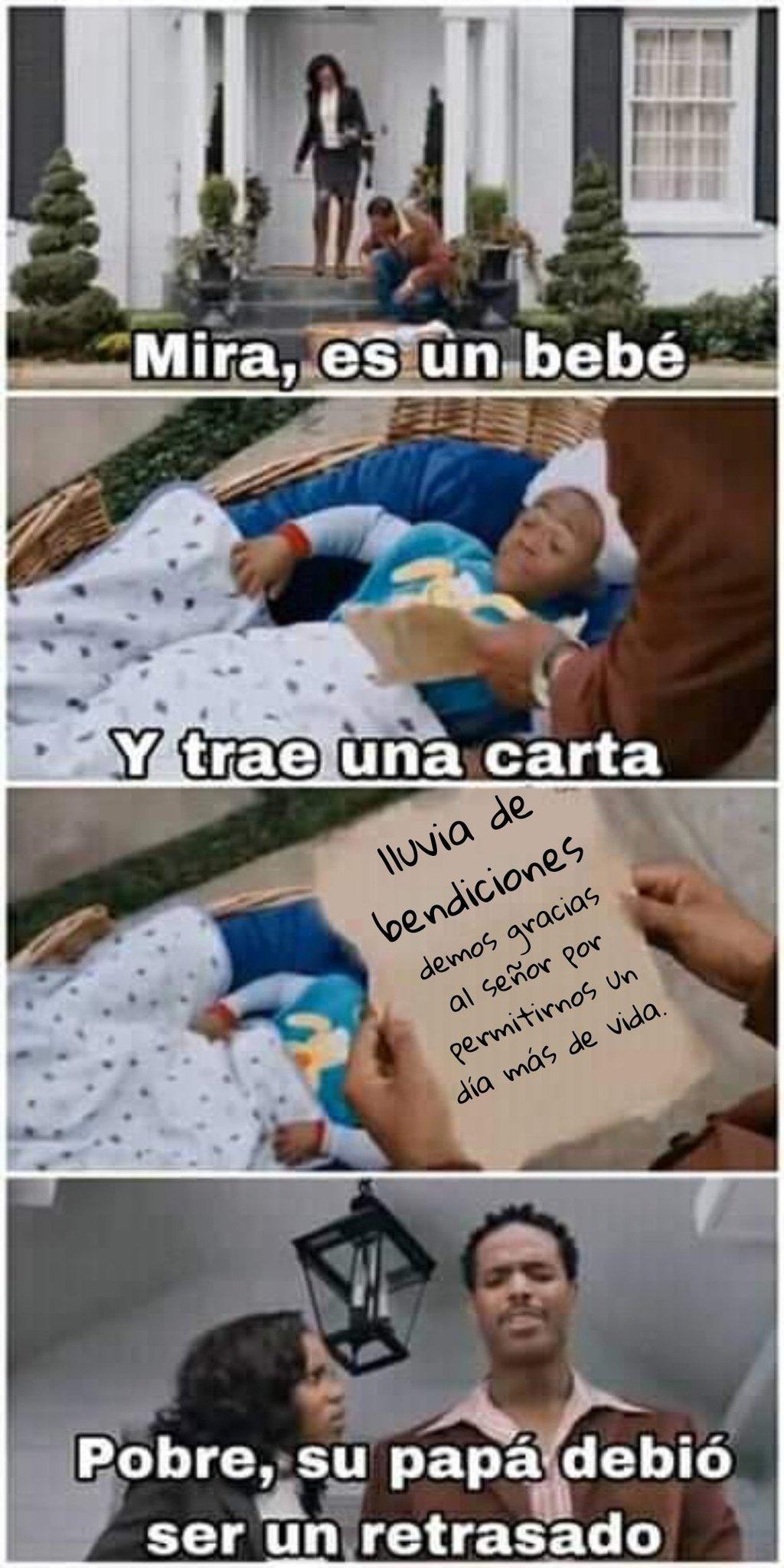 La carta - meme