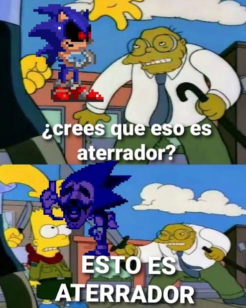 Sonic CD alternative ending... - meme