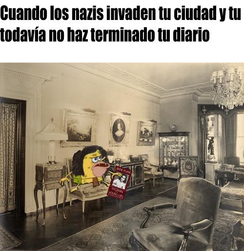 A esconderse, Ana - meme