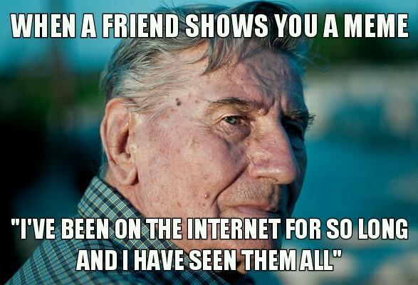 All the time spendet on memes