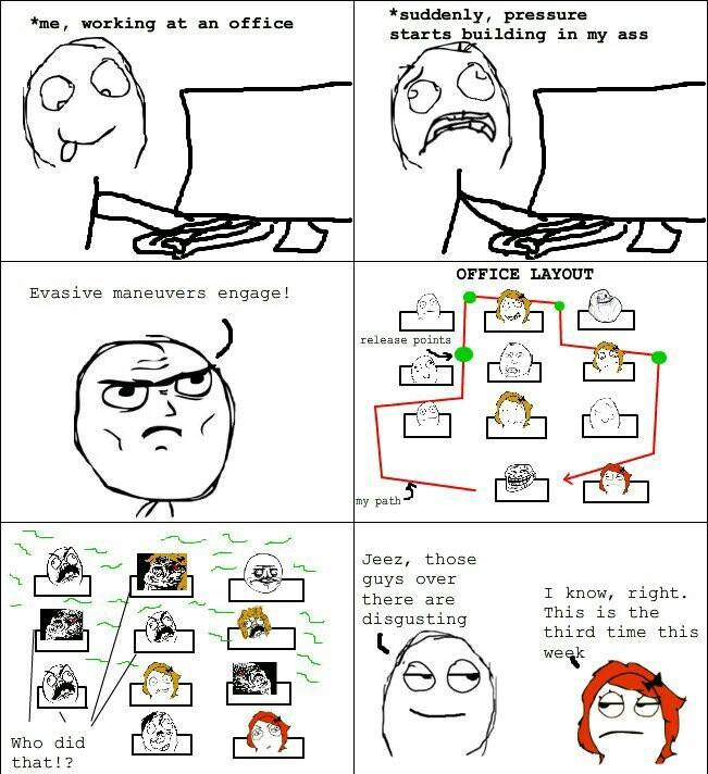 Strategic fart planning - meme