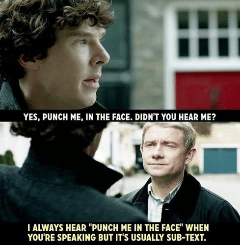BBC sherlock is quite good - meme