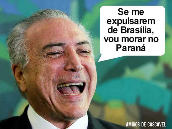Se ele vim pra ca vou pra brasilia - meme