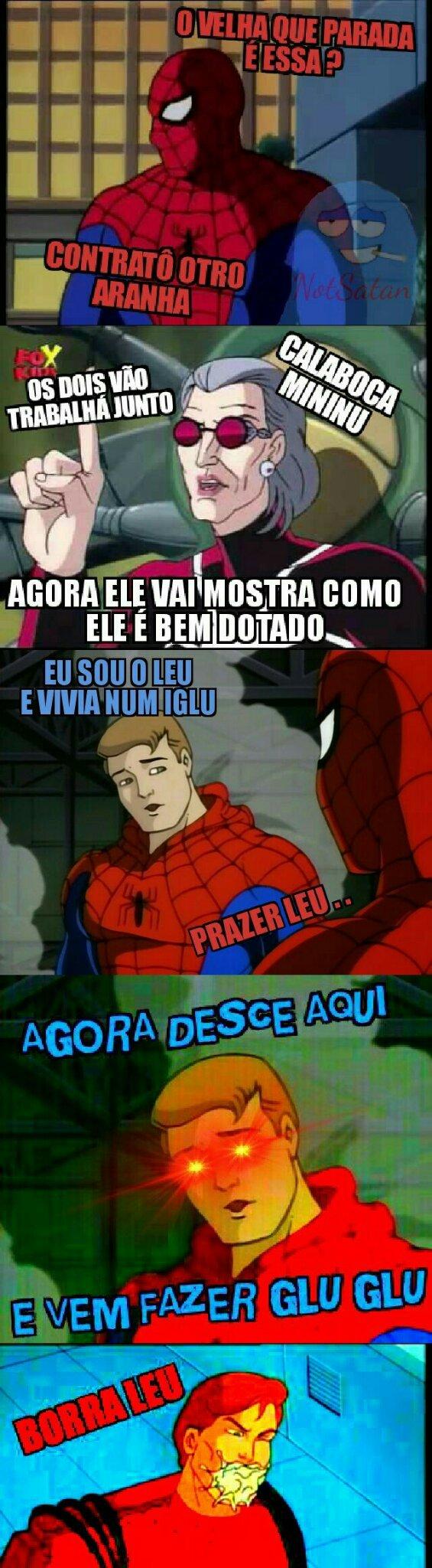 Homem Aranha de Volta a Orar - meme
