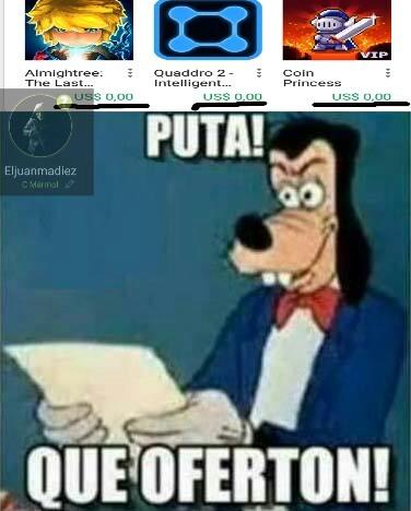 Oferta de 0$ el kilo - meme