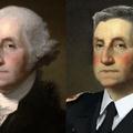 George Washington with a modern hair style