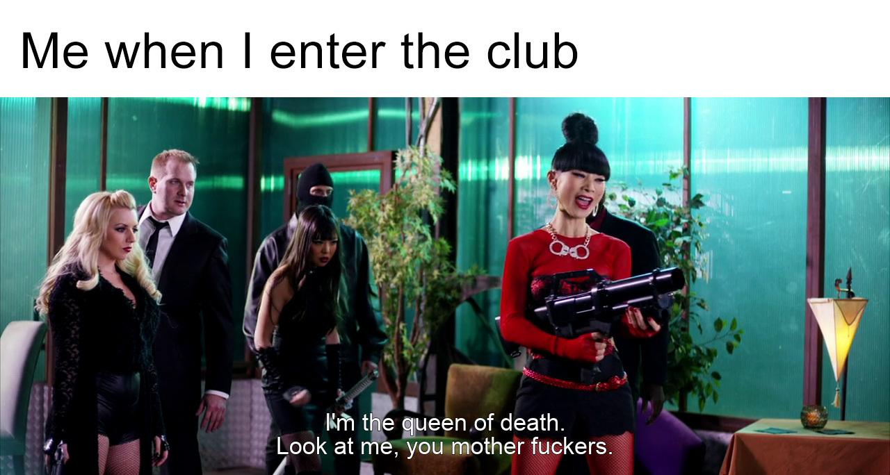 Queen of Death - meme
