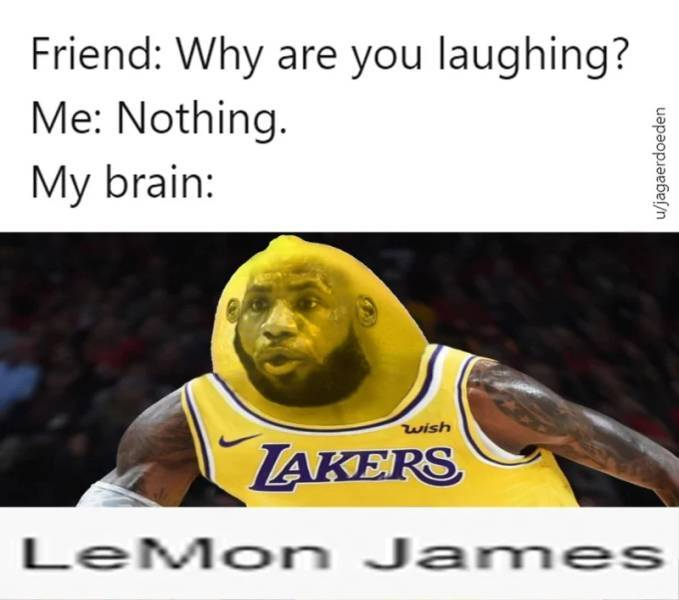 LeMon James - meme