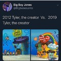 Tyler the Creator has changed lol