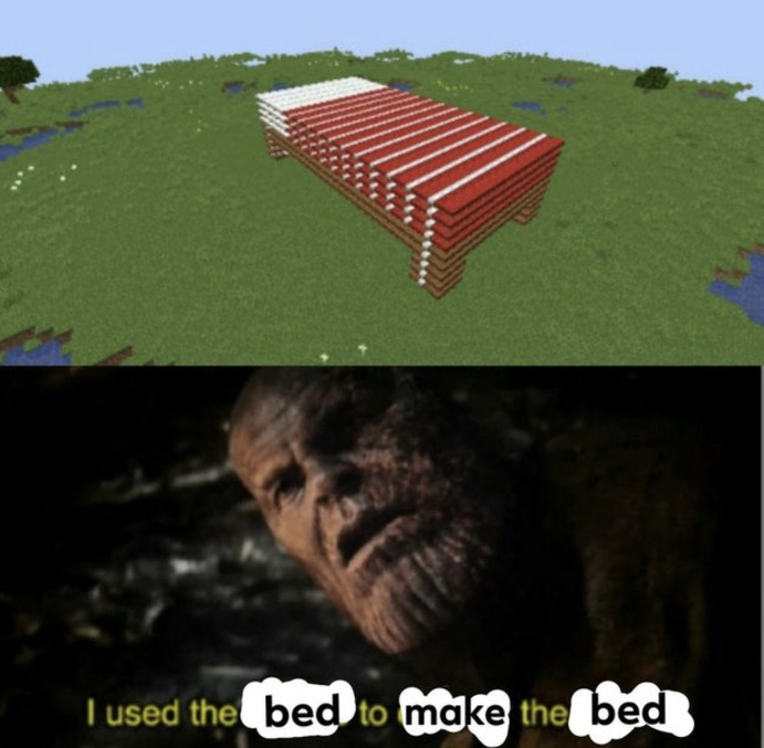 Bed - meme