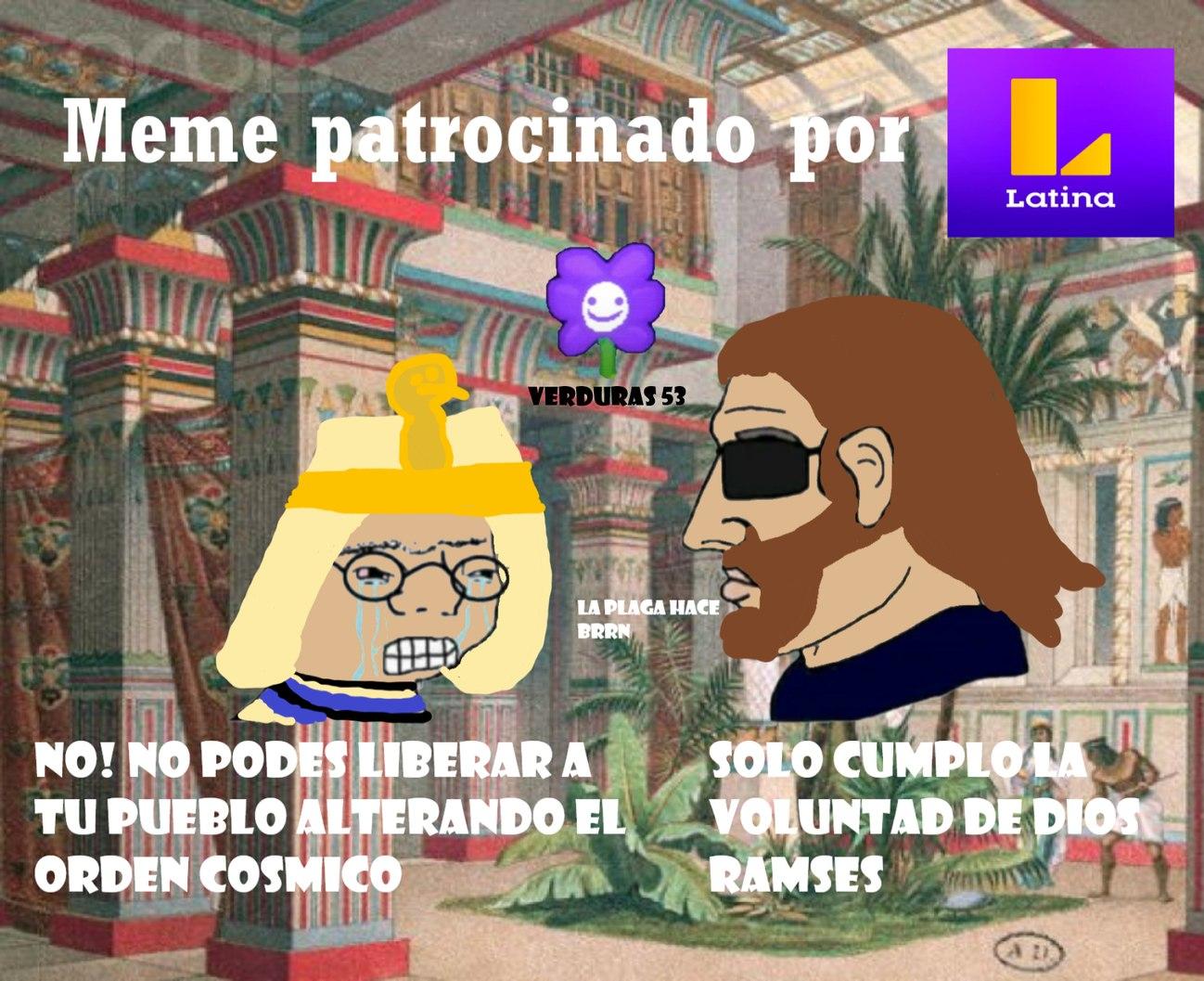 """""""Moises y los 10 Mandamientos"""" A las 10:00 PM, solo en Latina - meme"""