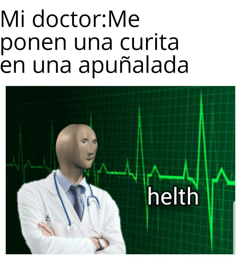 *Ministerio de salud* - meme