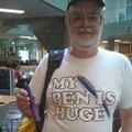 """My """"pen""""is hug"""