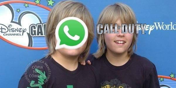 Zap e Cod - Gêmeos em Ação - meme