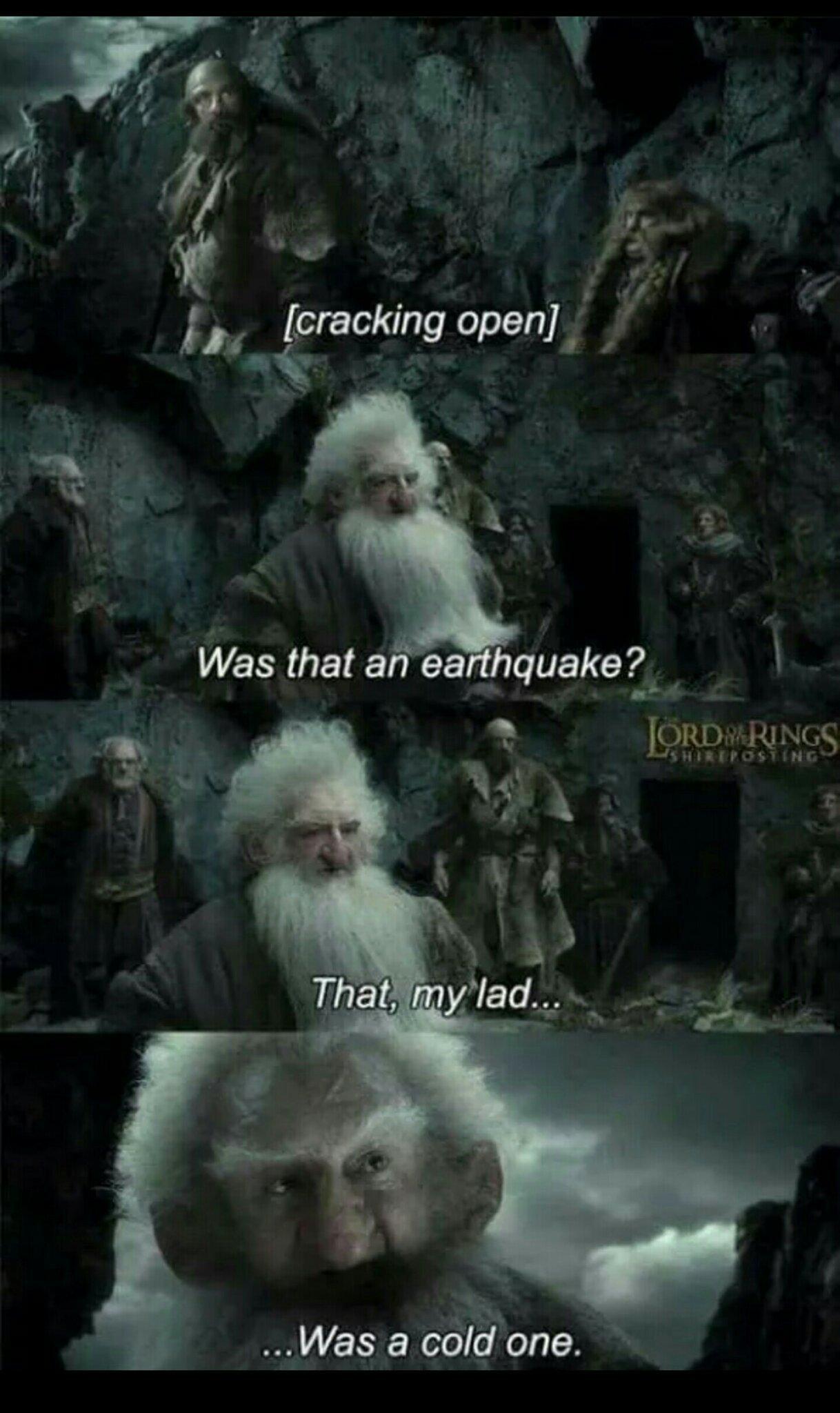 The Hobbit movies are good movies - meme