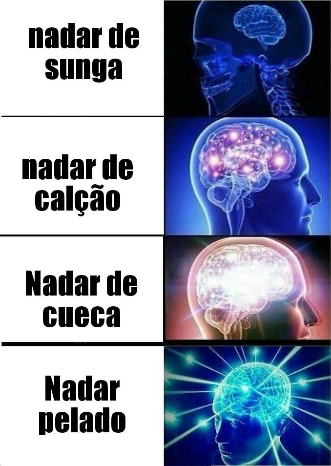 NADAR PELADO - meme