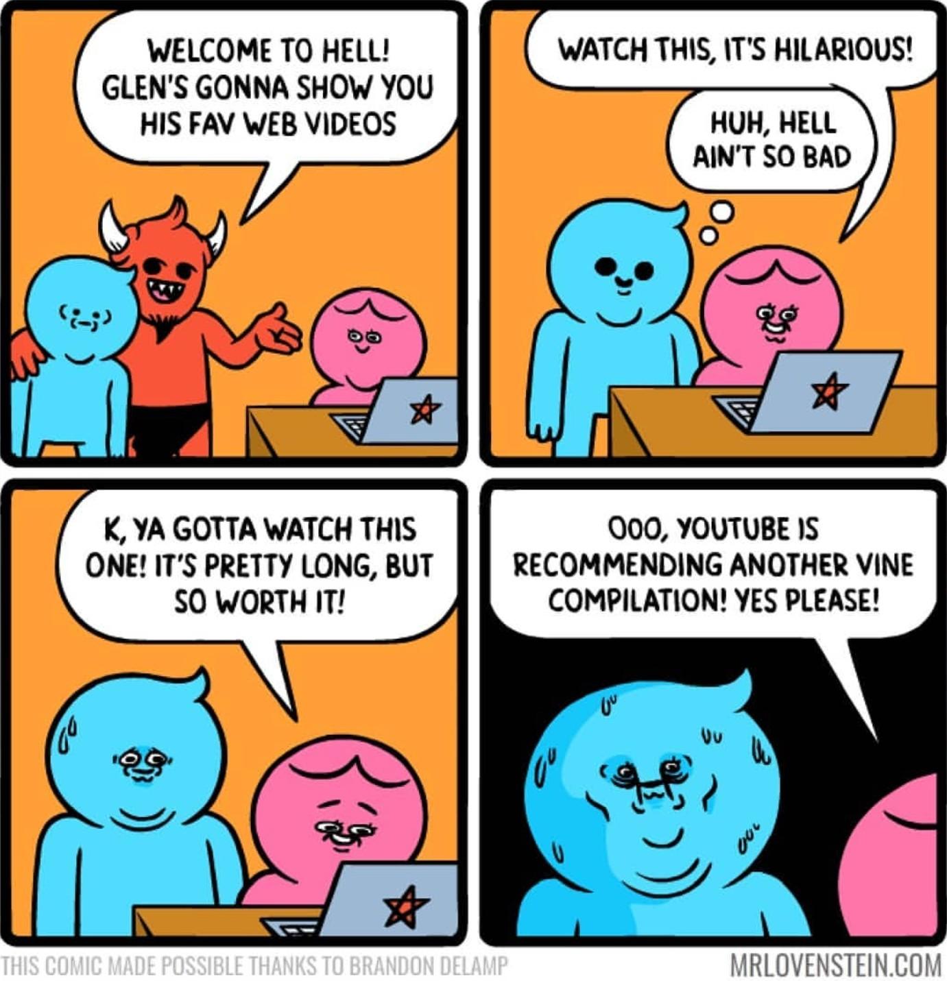 Youtube recommendations suck - meme