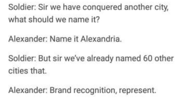 Brand awareness - meme