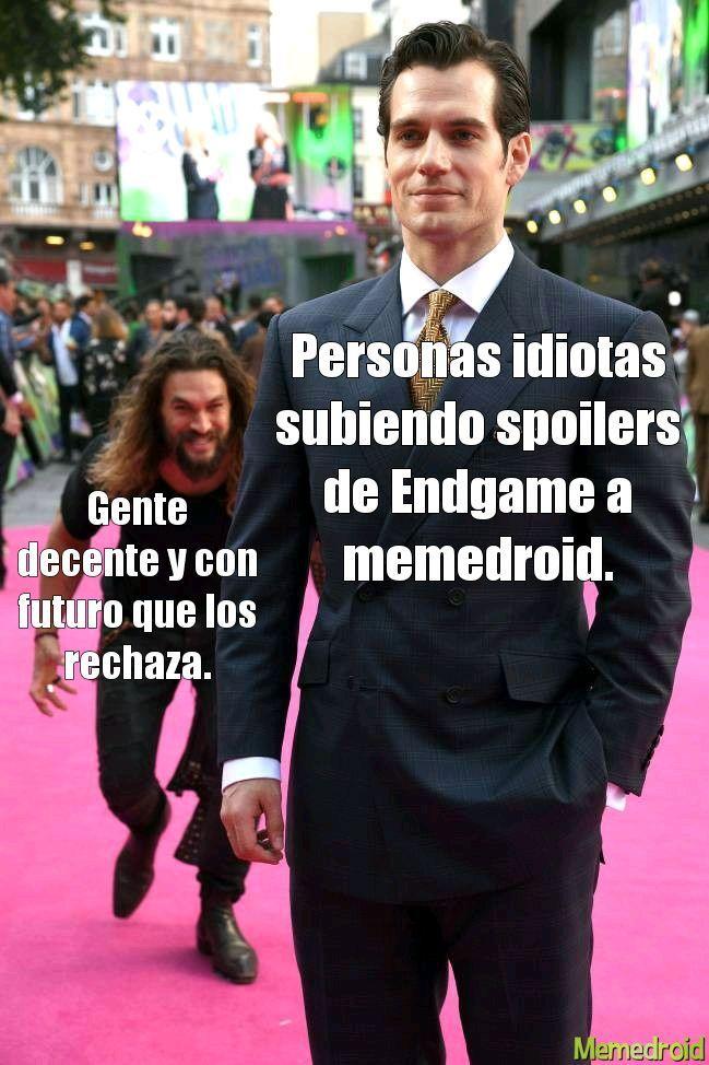 No spoilers! - meme