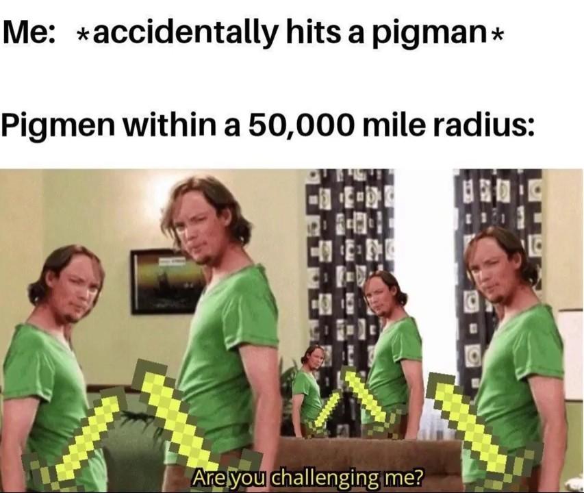 Meme gringo de menescraft ae
