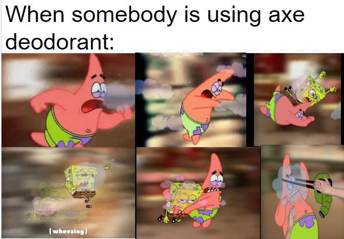 Axe Deodorant - meme
