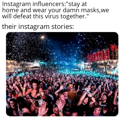 These influencers... - meme