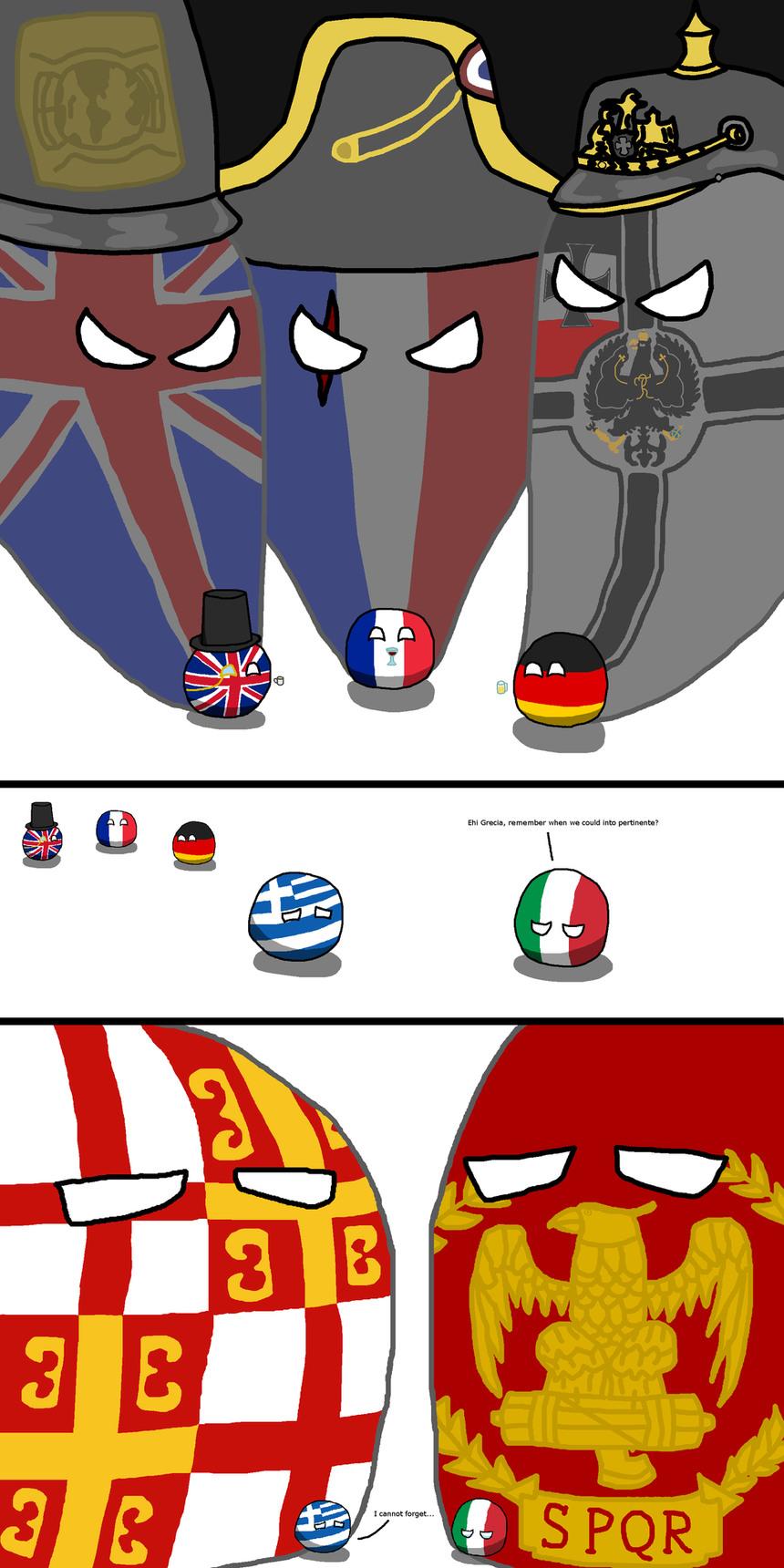 Grecia grande spqr - meme
