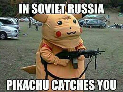 Pokemon GO....... - meme