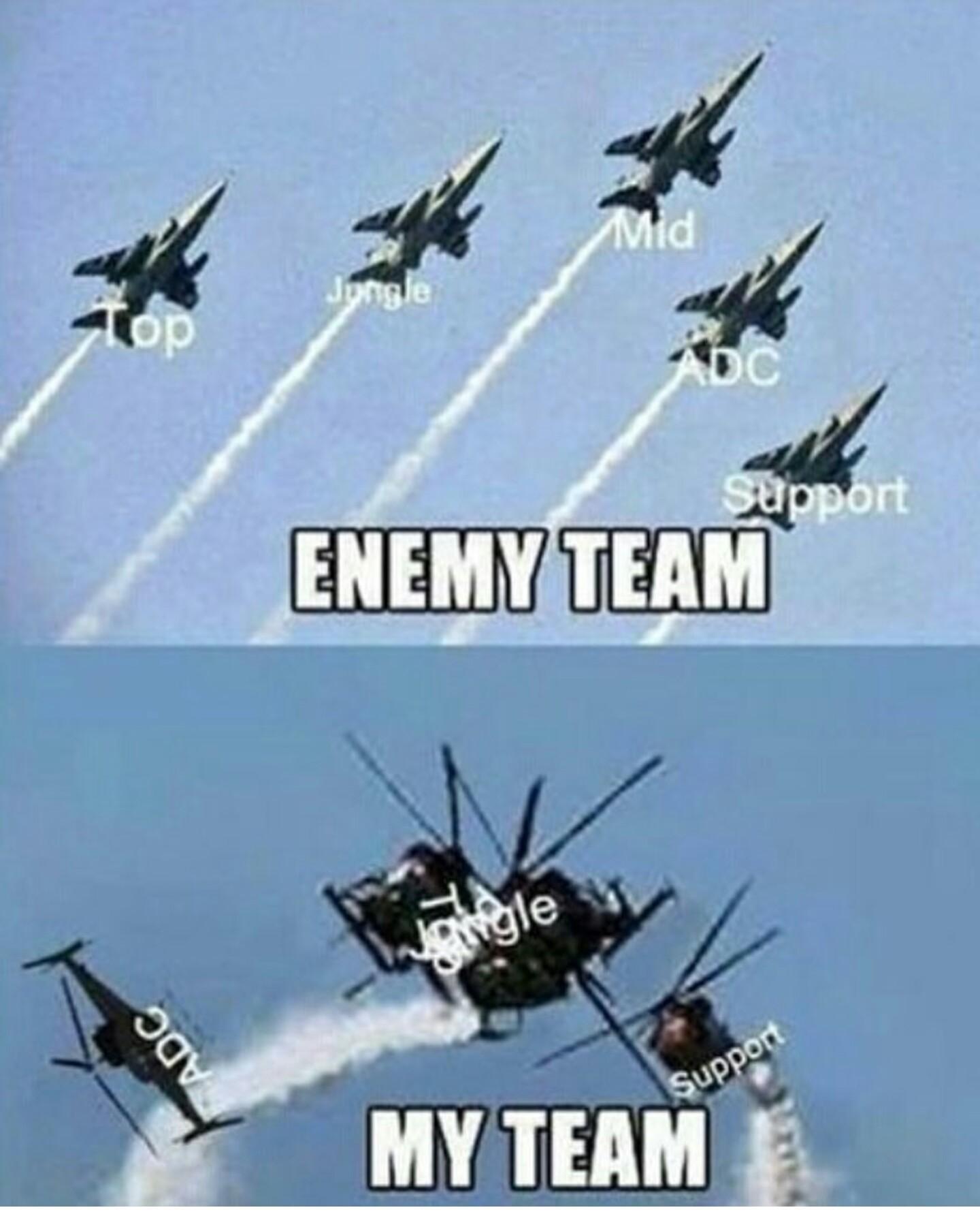 Dans tout les jeux c'est comme ça :') - meme