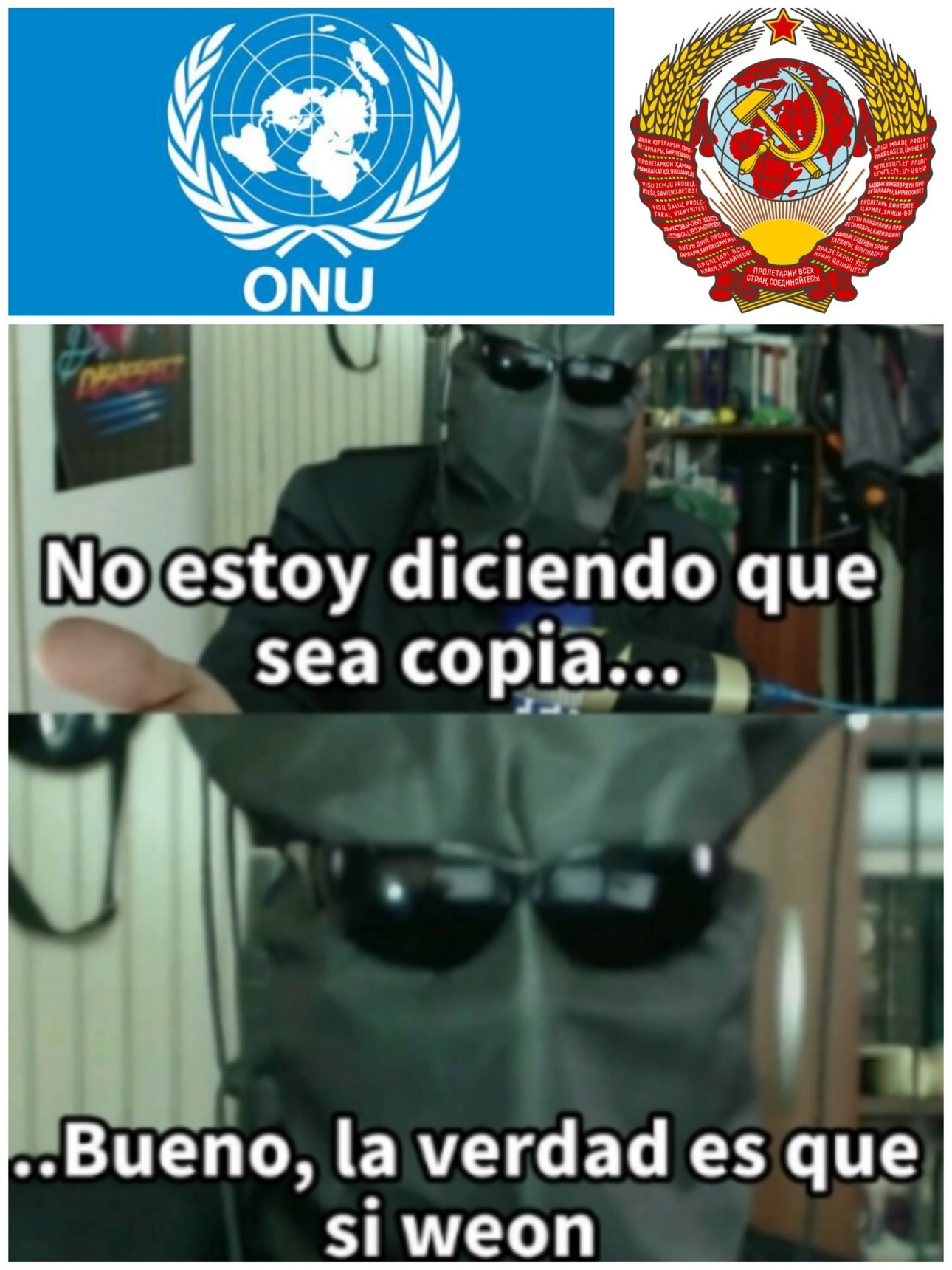 La ONU y la URSS. - meme
