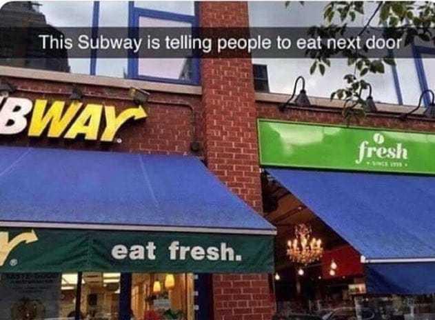 Ouais mangez à côtés nos sandwich ont ebola - meme