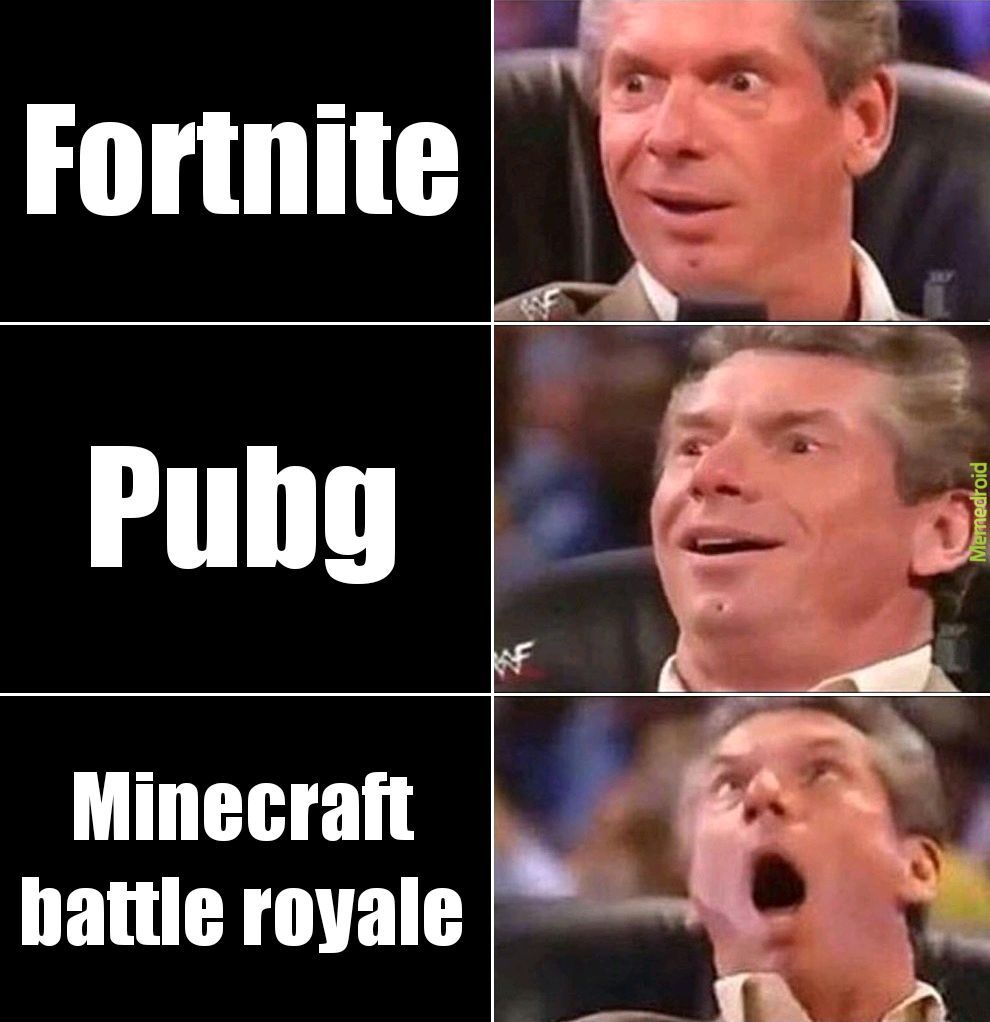 Good ol minecraft - meme