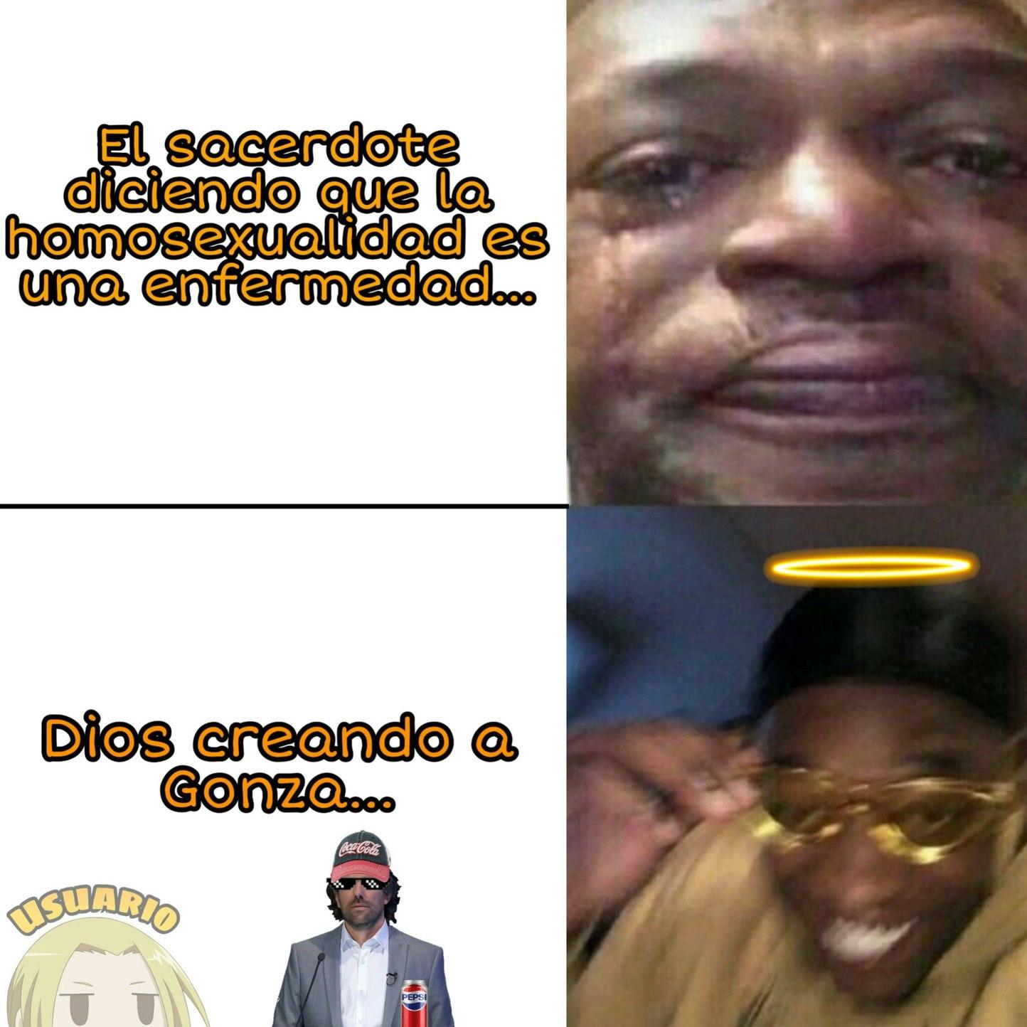 Dios negro._.XD - meme