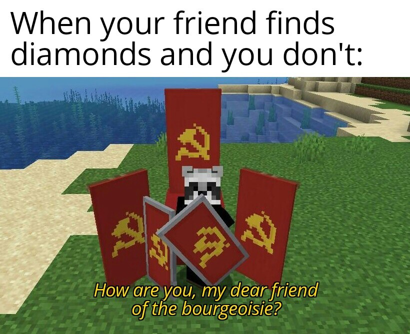 Soviet minecraft - meme
