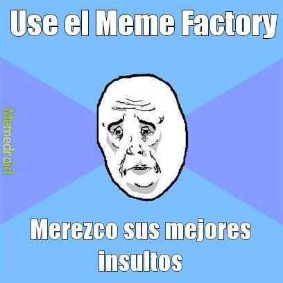 Los mejores insultos - meme