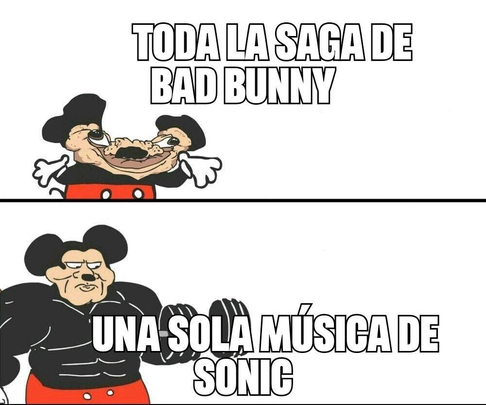 Sonic el crack - meme