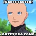 Naruto tiene cáncer