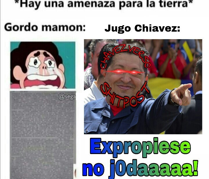 Jugo Chiaves GOD... el que rechace es pэruano - meme