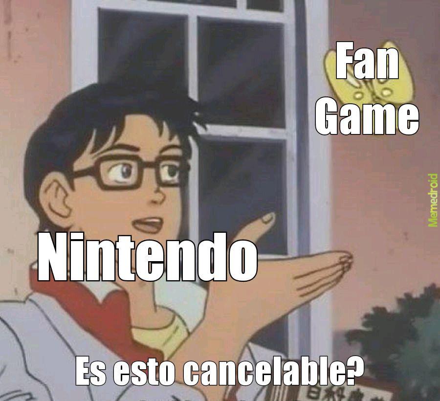 Jugué unos dos Fangames de Mario, estaban bastante buenos, una lastima que los hayan cancelado :( - meme