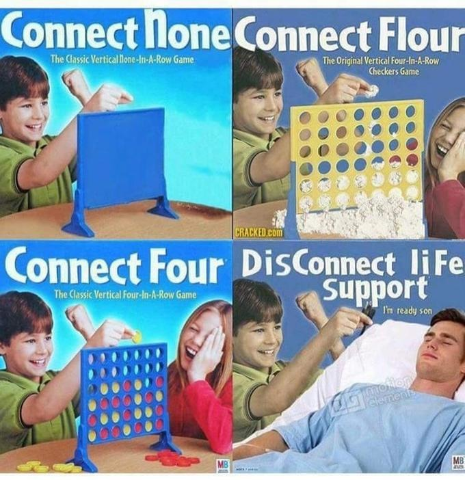 Connect 4 madness - meme
