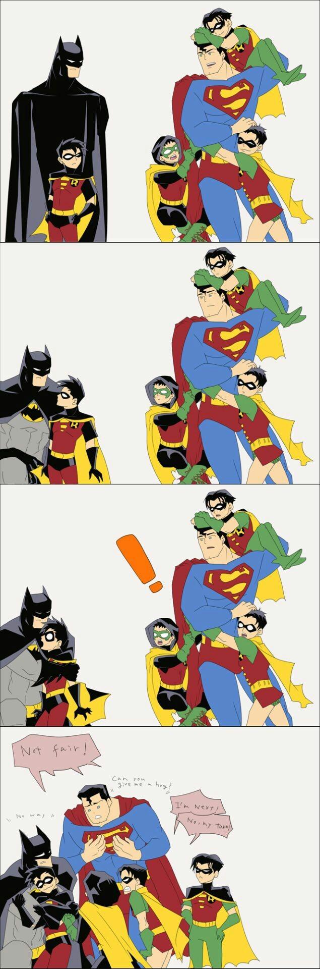 Todos quieren un abrazo de batman - meme