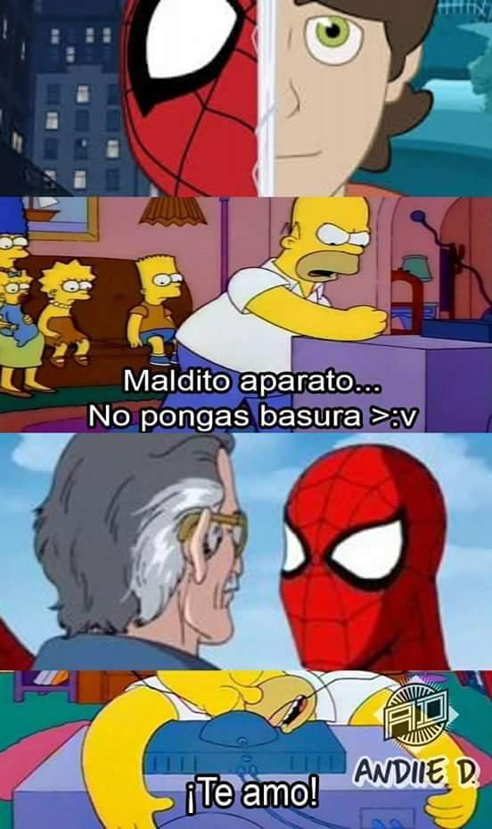 Spider Parker - meme